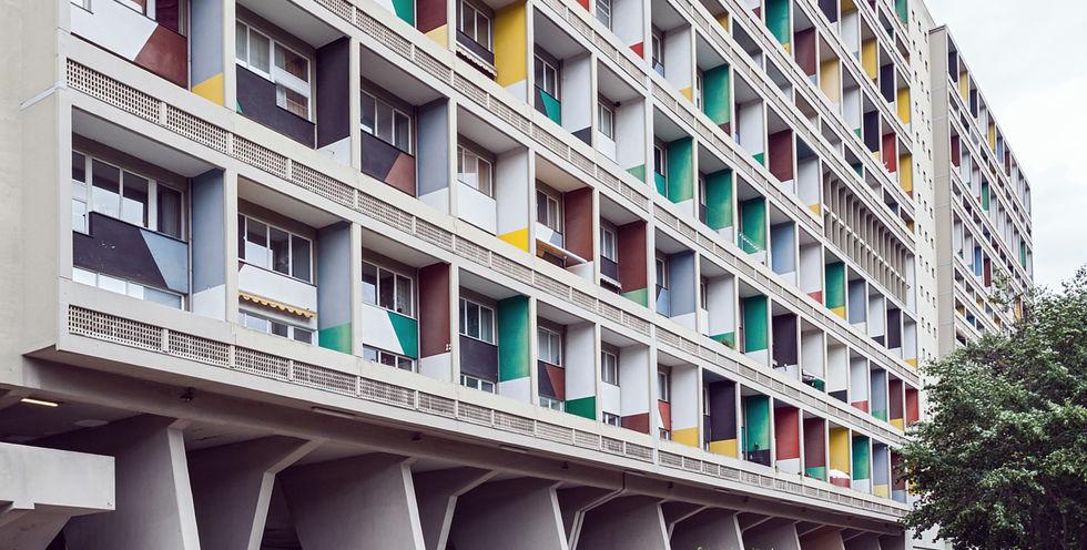 jung referenzen appartement im corbusierhaus berlin. Black Bedroom Furniture Sets. Home Design Ideas