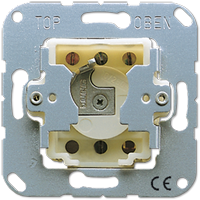 Key switch insert with protection against dismounting