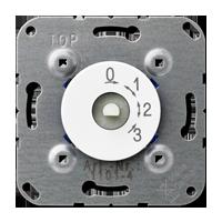 3-Stufenschalter m. Nullstellung 16 AX 250 V ~