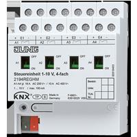 Control unit 1 – 10 V, 4-gang