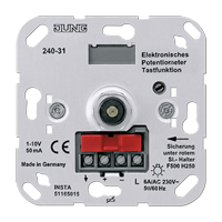 Elektronisches Potentiometer, Tastfunktion