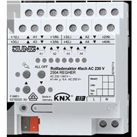 Rollladenaktor 4fach AC 110-230 V