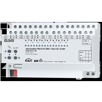 Jalousieaktor 8fach AC 110-230 V, 4fach DC 12-48 V