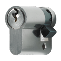 Locking cylinder for key switches