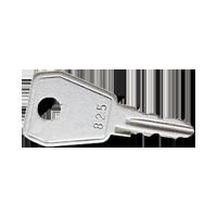Ersatzschlüssel für alle Klappdeckel mit Sicherheitsschloss