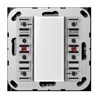 Standard push-button module, 2-gang