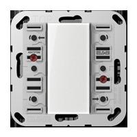 Standard push-button module, 3-gang