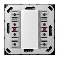 Universal push-button module, 2-gang