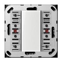 Universal push-button module, 4-gang