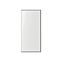 Transparent cover 25 x 55 mm