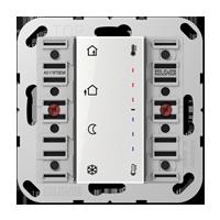 Room controller extension module 2-gang