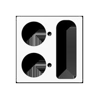 Abdeckung für VarioLine – Ruftaster für Patientenruf, Rufabstelltaste und Universalsteckvorrichtung