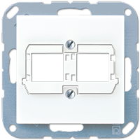 Centre plate for modular jack Reichle + De-Massari