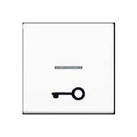 """Wippe mit abtastbarem Symbol """"Tür"""" und Lichtleiter"""