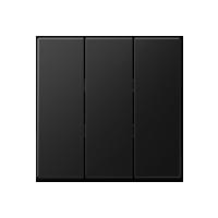 grau//blau J/äger 560.961.06 3-Funktionen-Schalter OPUS-AQUA mit Wippe