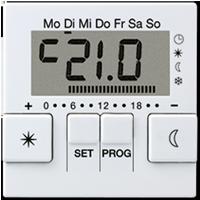 Дисплей термостата с таймером системы радиоуправления