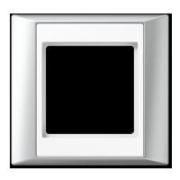 Frame, aluminium-white