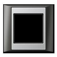 Frame, anthracite-aluminium
