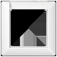 Placca con finestra, illuminabile