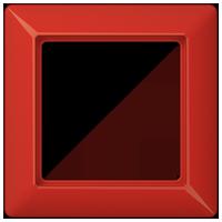 Rahmen für Abdeckung mit Glasscheibe