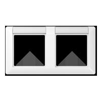 Рамка с полем для надписи для горизонтальной установки