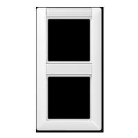 Rahmen mit Schriftfeld für senkrechte Kombinationen