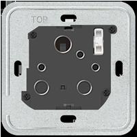 1-gang socket insert, 15 A