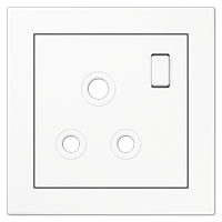 Centre plate for socket BS 2171-15 EINS, 3171-15 EINS