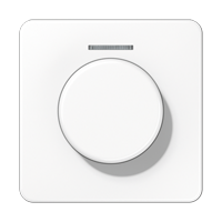 Abdeckung mit Lichtleiter für KNX Drehsensor – Serie CD