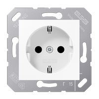 SCHUKO® socket with child protection