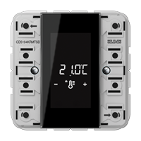 Room controller display compact module 4-gang