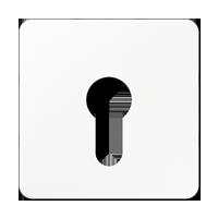 Abdeckung für Schlüsselschalter ohne Demontageschutz