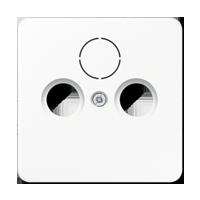 Abdeckung für Antennen-Steckdose und SAT-TV-Steckdose