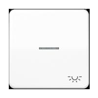 """Wippe mit Symbol """"Licht"""", mit Lichtleiter"""
