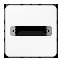 Abdeckung für 1 D-Subminiatur-Steckverbinder
