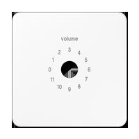 Abdeckung für Lautstärkesteller Dynacord / WHD