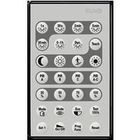 Télécommande IR (pour installateur) pour détecteur de mouvement et de présence
