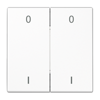 EnOcean Funk-Wandsender mit Symbolen 0 I
