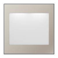 Edelstahl (lackiertes Aluminium)
