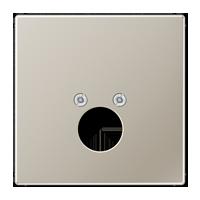 Abdeckung für 1 Kleinsteckdose (Lautsprecherbuchse)