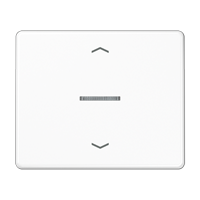 eNet radio centre plate for blinds control