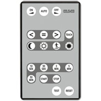 IR remote control for KNX presence detector / automatic switch