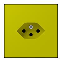 Швейцарская розетка 1-ная, тип 13
