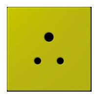 Centre plate for socket BS 2171-5 EINS, 3171-5 EINS