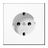 Afdekking voor contactdoos met beschermingscontact – Serie LS