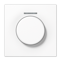 Abdeckung mit Lichtleiter für KNX Drehsensor – Serie LS