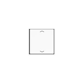 Taste 4fach mit Symbolen ▲▼, für Taste 1 oder 4
