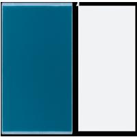 Transparent cover 38 x 68 mm