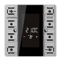 Kompakt-Raumcontroller-Modul 2fach