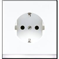 SCHUKO® Steckdose mit LED-Orientierungslicht